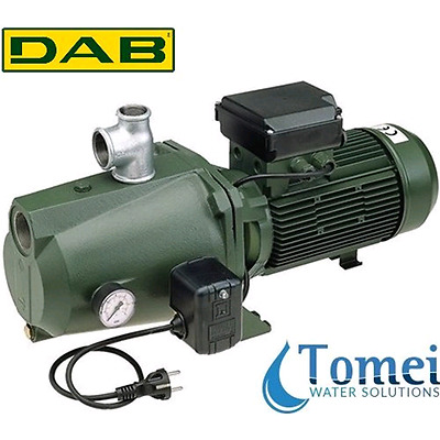 Self-Priming Electro Water Pump SET UP in Cast-Iron JET 200 M-P 1,5KW 240V DAB
