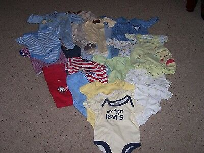 Size 3-0 months boys or girls clothing Pooh lot.