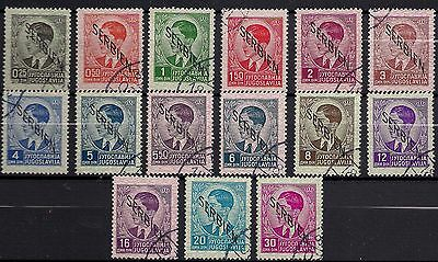 German Occupation Of Serbia ( Ww2 ) - Definitives Complete Set - Cto