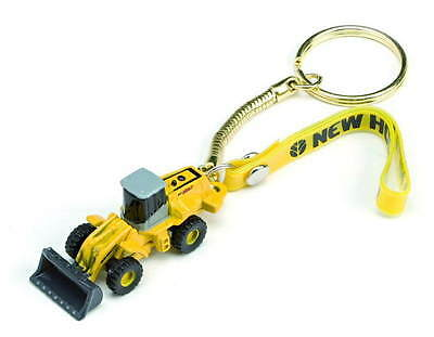 NEW HOLLAND FRONT LOADER KEYRING - 3D Novelty Construction Keychain by ROS