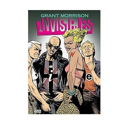 The Invisibles Book Three Deluxe Edition Hardcover Special Edition - Brand New!