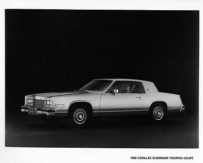 1982 Cadillac Eldorado Touring Coupe Factory Photo ae4287