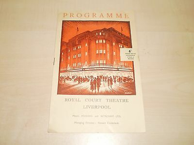 1956 Liverpool Royal Court Theatre Programme Richard II With Local Adverts