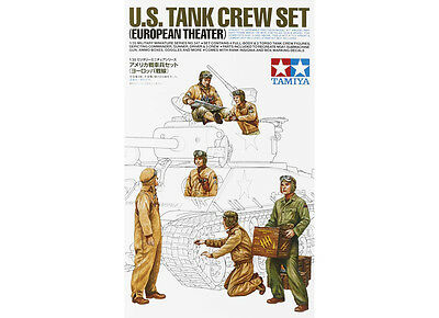 Tamiya 35347 1/35 US Tank Crew Set European Theater TAM35347
