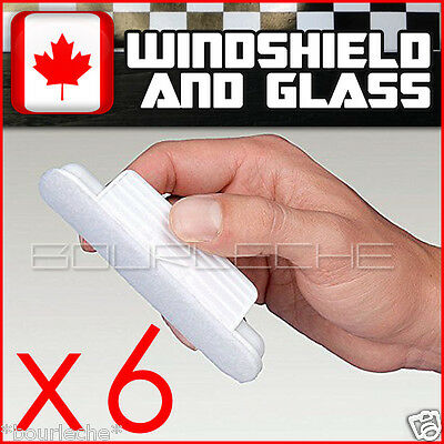 6PACK HYDROPEL WINDOW WINDSHIELD TREATMENT RAIN - same aquapel applicator size