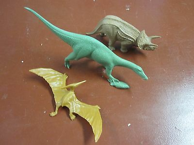 Invicta British Museum dinosaurs x3--Baryonyx, Triceratops and Ptery