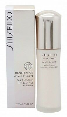 Shiseido Benefiance Wrinkle Resist 24 Night Emulsion - Women's For Her. New