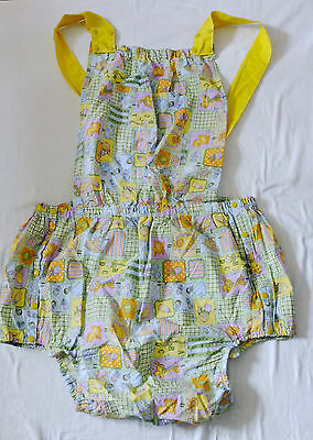 Adult Baby Romper Dungarees All in One Play Suit PVC Lined XXXL Roleplay Sissy