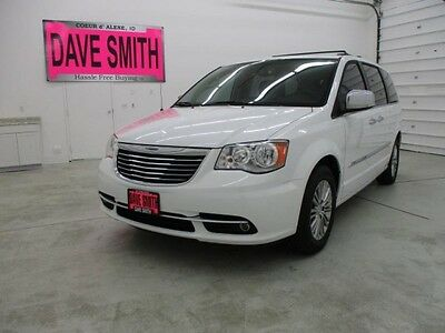 2014 Chrysler Town & Country  14 Remote Start Navigation 3rd Row DVD Player Heated Seats Wheel Luggage Rack