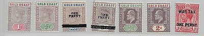 Gold Coast Selection Includes Early Queen Victoria Ref 888