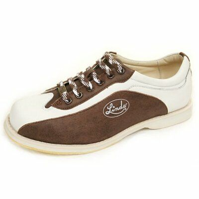 Linds Men's CPS MENS BROWN/WHITE LH ONLY  Bowling Shoes size  10    NEW IN BOX