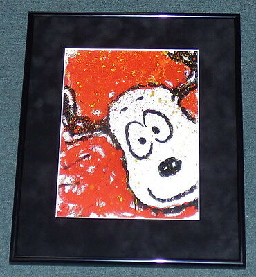 Tom Everhart Peanuts Snoopy Dog For All Seasons Spring Framed Print Schulz