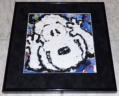 Tom Everhart Peanuts Snoopy Chocolate Espresso Beans At Midnight Framed Print