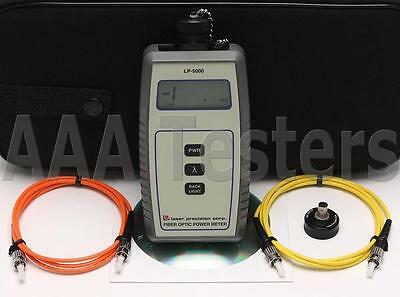 GN NetTest Laser Precision LP-5000 SM MM Fiber Optic Power Meter LP 5000