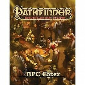 Pathfinder Role Playing Game NPC Codex