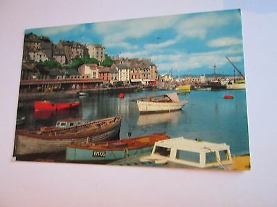 Postcard of The Harbour, Brixham (posted 1971)