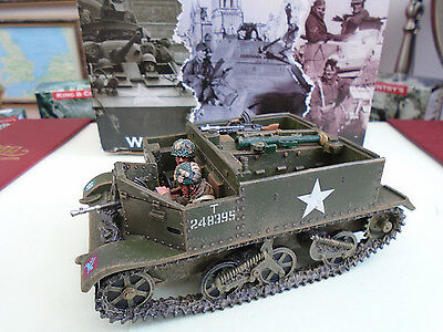KING AND COUNTRY Arnhem Universal Carrier WW2 MG46 MG046