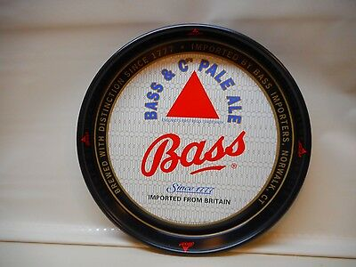 """NOS Bass Beer Tray Metal 13"""" New Old Stock Unused"""