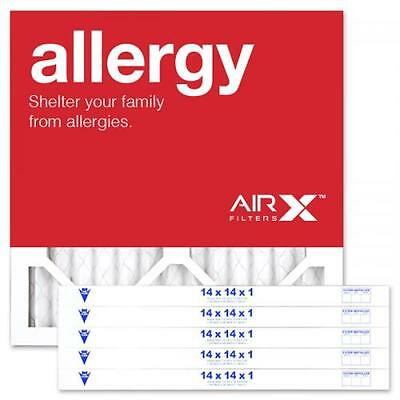 AiRx Allergy 14x14x1 MERV 11 Pleated Filter