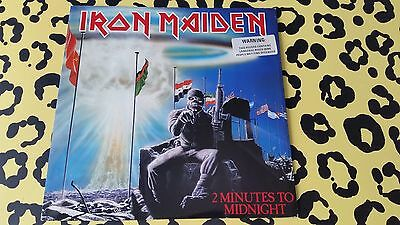 "Iron Maiden - 2 Minutes To Midnight 12"" Vinyl Single"