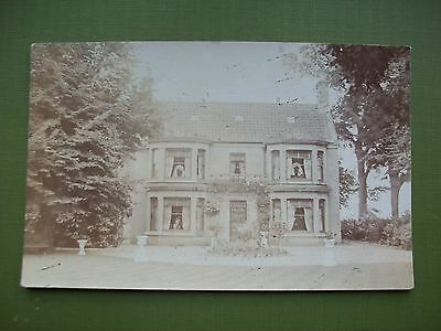 C1910 Photograph- Postcard: Unknown House - Mystery Place - County?.