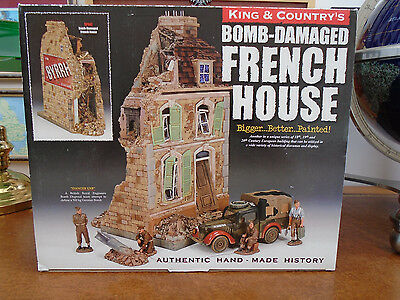 King And Country Sp47 Bombed French House