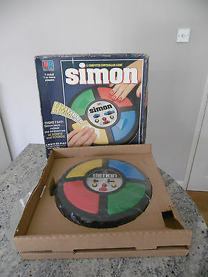 *vintage Mb Electronics 'simon' Computer Controlled Game Fully Working-Nmib*