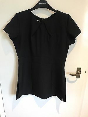 BRAND NEW!! Florence Roby Beauty Tunic Black Size 10