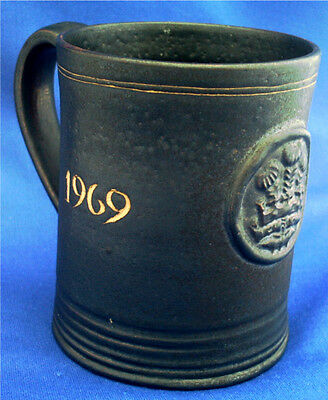 Rye Pottery Mug. Investiture Of Prince Charles As The Prince Of Wales In 1969