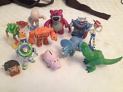 Set of 12 Toy Story 3 Action Figure Buzz Woody Jessie Figures Dinosaur Dot