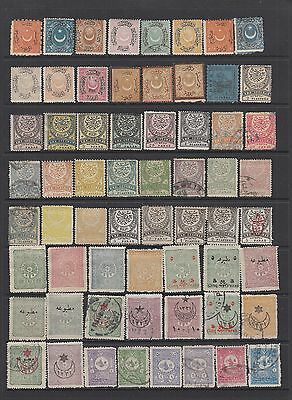 Turkey early collection , 156 stamps