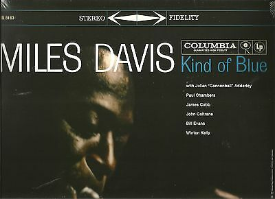 "New(Sealed) Us Columbia Stereo Lp *** Miles Davis ***  ""kind Of Blue"""
