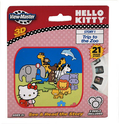 ViewMaster Hello Kitty 3 Reel Set - NEW