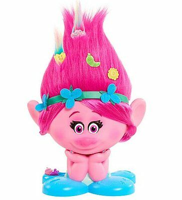 Trolls POPPY STYLING TROLL with 10 ACCESSORIES Style Station DreamWorks