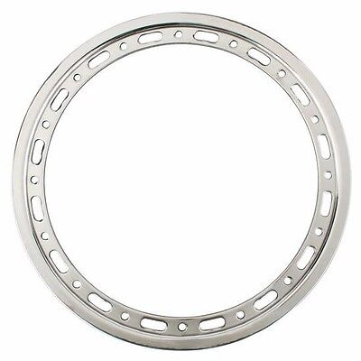 Weld P650-5275 15IN 16 Hole Bolt-On Bead Lock Ring Slotted Late Model IMCA