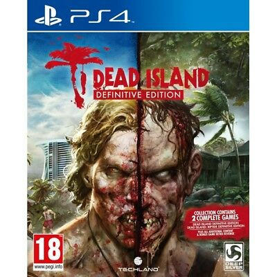 Dead Island Definitive Edition Collection PS4 Game - Brand New!