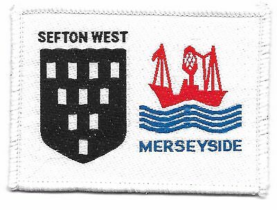 Sefton West/merseyside Double Scout Badge
