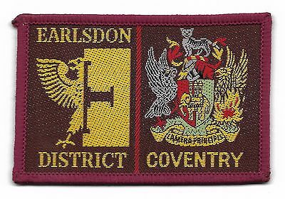 Earlsdon/coventry Double Scout Badge