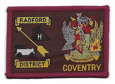 Radford/coventry Double Scout Badge