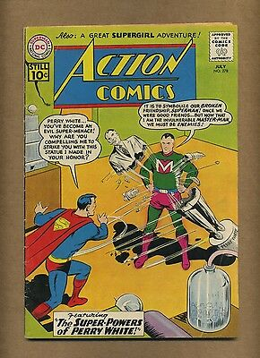 Action 278 (Solid!) Superman; Supergirl; Silver Age; DC Comics; 1961 (c#14425)