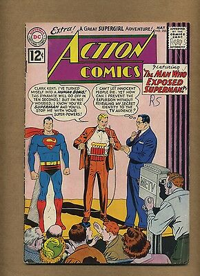 Action 288 (Solid!) Superman; r-origin Supergirl; Mon-El app; DC; 1962 (c#14435)