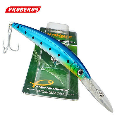 """1PC Minnow Fishing Lures 7""""/26.52g Bass Baits 2/0# Hooks Fishing Tackle Wobblers"""