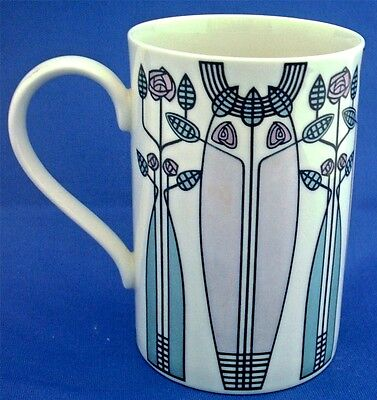 Art Nouveau Mug By Dunoon. Kelvin In The Style Of Charles Rennie Mackintosh