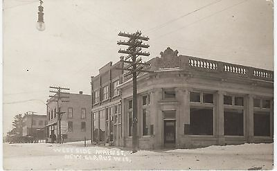 New Glarus,Wisconsin - West Side of Main Street - RPPC