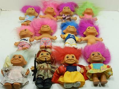 "Russ 4.5"" Assorted Troll Lot Of 12   #7"