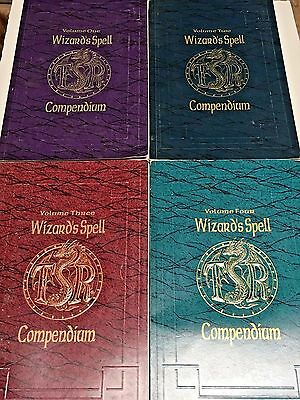 Wizard's Spell Compendium - Complete Set - AD&D 2nd Edition - Volume 1,2,3,4