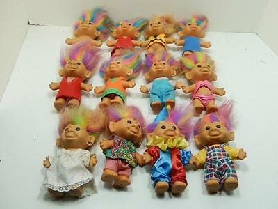 """Bright Of America 4.5"""" Assorted Troll Lot Of 12"""