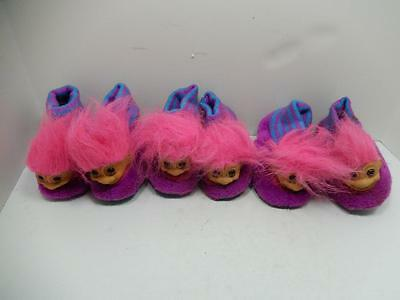Russ Troll Slipper Pair Lot Of 3