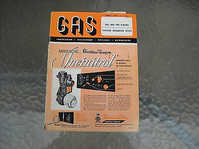 1955 GAS Magazine Natural Gas Industry