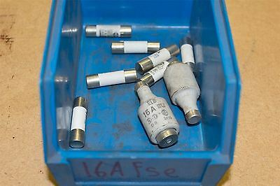 Assorted 16A fuses